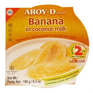 Frz Banana in Coconut Milk
