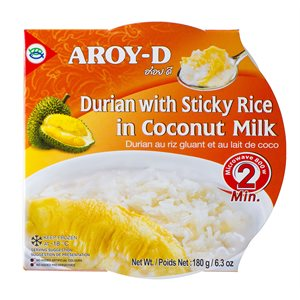 Frz Glutinous Rice w / Durian Coconut Milk