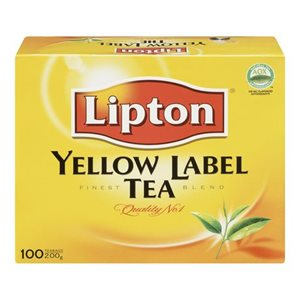 Yellow Label Tea (100 bags)