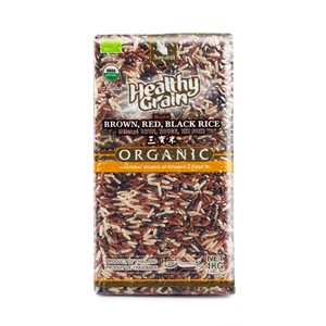 Organic Blended Rice (Brown, Black & Red)